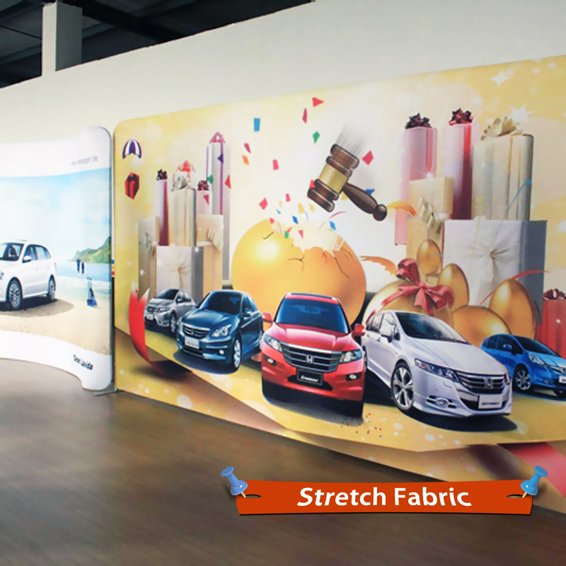 Stretch Fabric Banners DyeSublimation Fabric Printing Prints - Car show banners